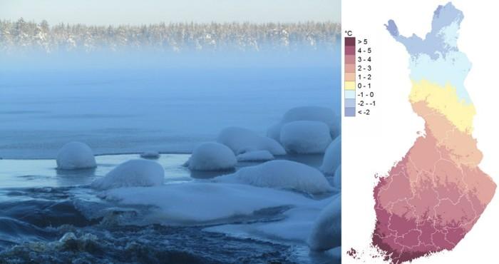 Laponie Finlandaise : climat et ensoleillement