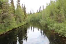 été en Laponie ; Auttiköngas
