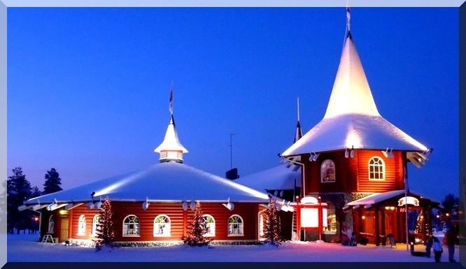 noel en Laponie