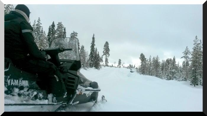 motoneige Finlande